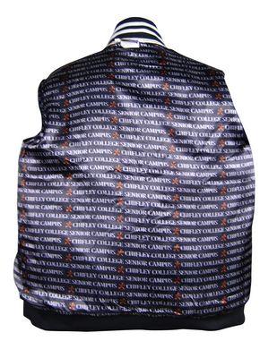 chifley college senior campus custom baseball jacket