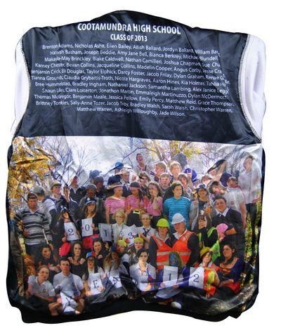 cootamundra high school exodus baseball jacket name and photo lining