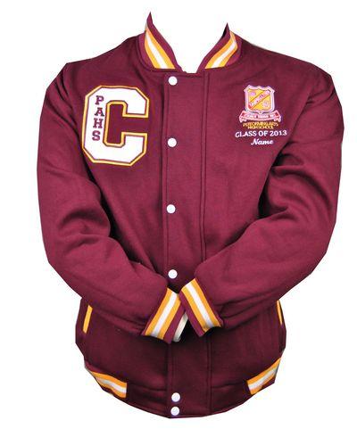 campbelltown performing arts high school exodus baseball jacket front