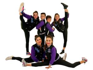 Custom dance troupe usa tour varsity jackets