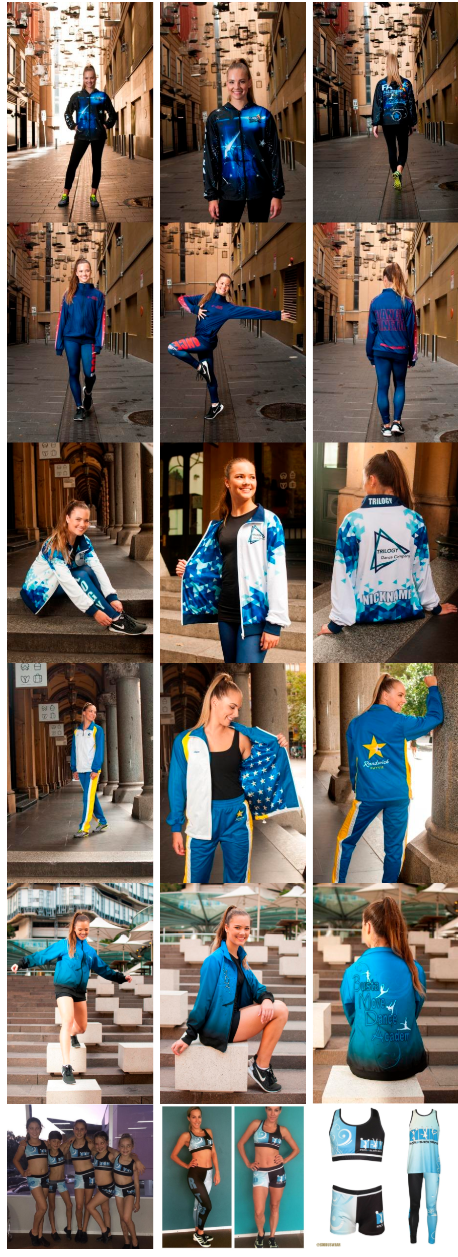 custom dance uniforms