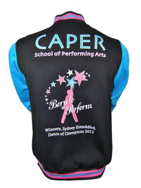 Caper-School-of-Performing-Arts-Exodus-Baseball-Jacket-back-with-custom-photo-collage-lining_600