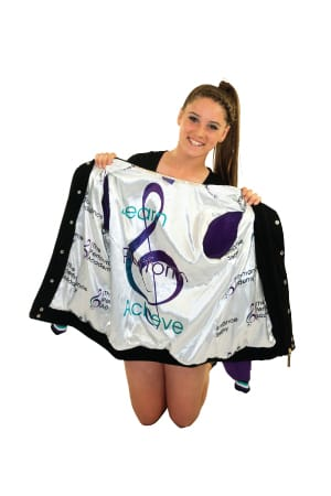 Custom Varsity Dance Jacket