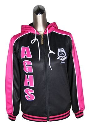 Asquith Girls High School Active Jacket Front
