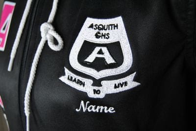 Asquith Girls High School Active Jacket Emblem