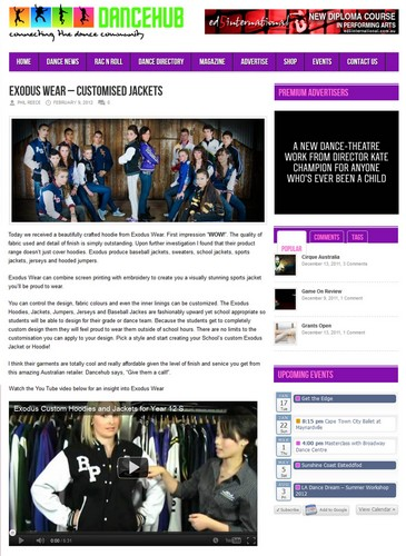 Exodus Wear Custom Dance Club Jackets Review dancehub