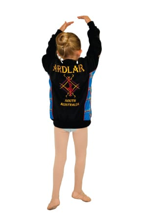 Exodus Wear custom active jacket tartan adlair dance back