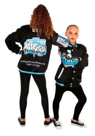 Synerdy-dance-custom-graffiti-varsity-jackets