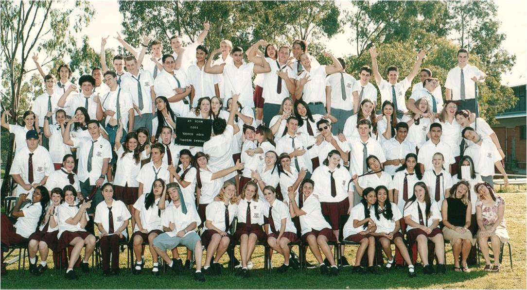 Year 12 muck up photo school kids gone wild