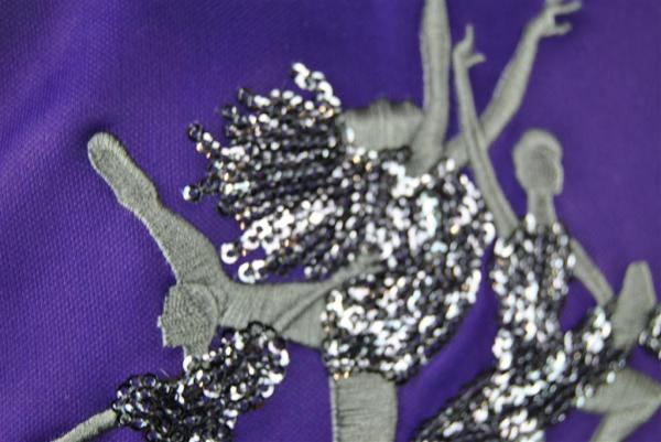 avenue t custom made dance jacket shiny sequins embroidery