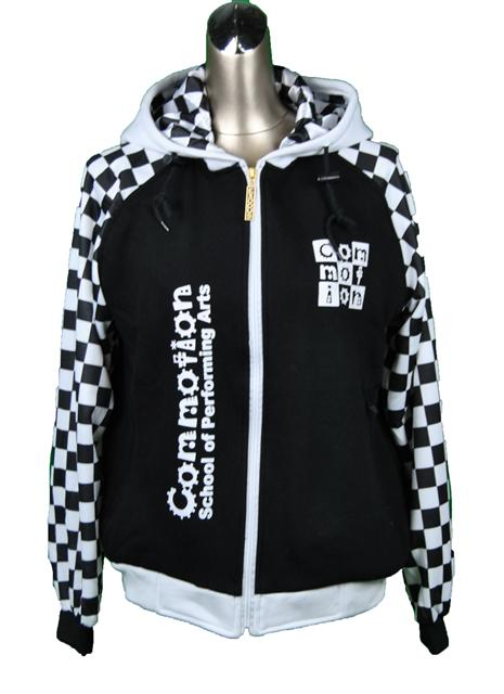 commotion school of performing arts custom dance jacket