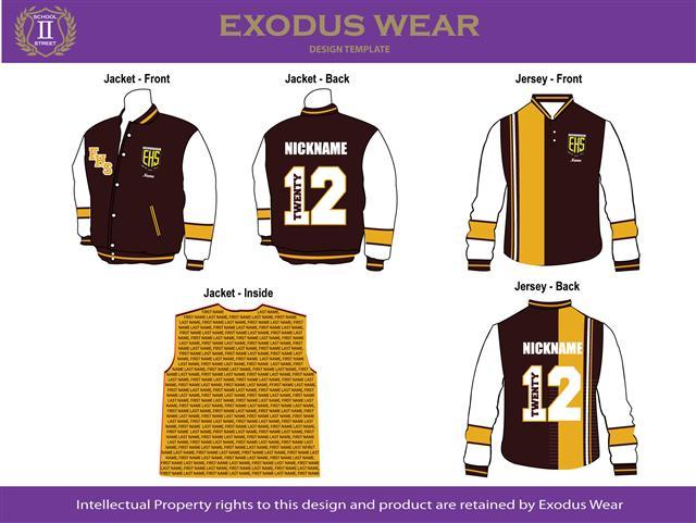 elderslie high school matching year 12 baseball jacket cotton rugby jersey