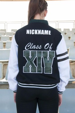 ex cardigan custom year 12 varsity cardigan back