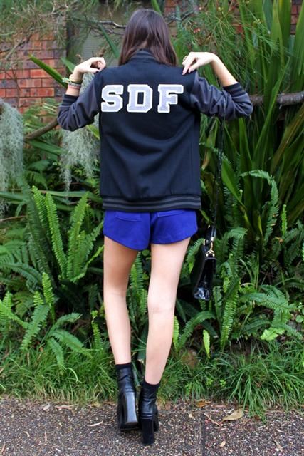 sydney fashion blogger spindizzyfall wearing letterform baseball jacket
