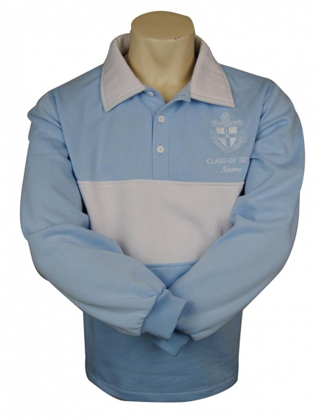 the kings school sydney lightweight polyfleece year 12 jersey front