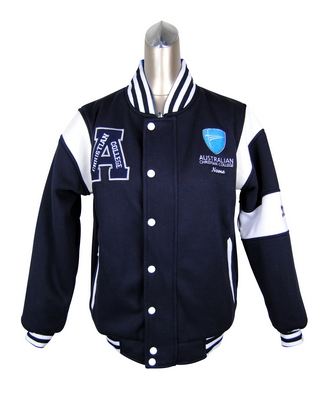Australian Christian College Reversible Varsity Jackets Front