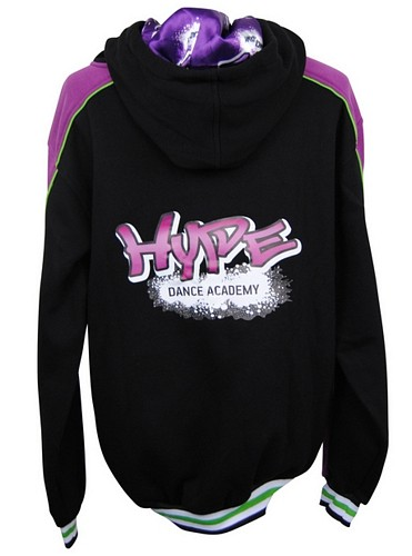 Hype Dance Academy Custom Hooded Jumper back