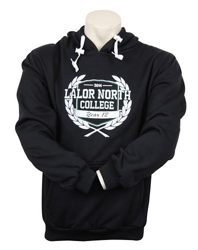 Lalor North College custom VCE jumper design Front
