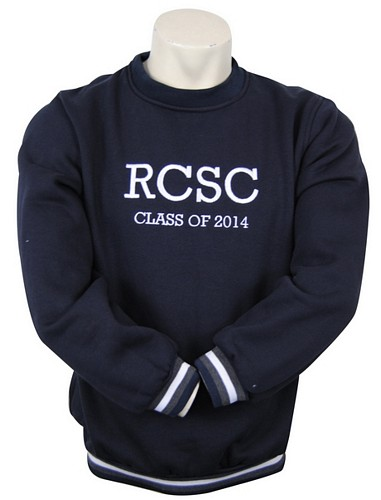 Red Cliffs Secondary College Custom Year 12 Crewneck Jumper Front