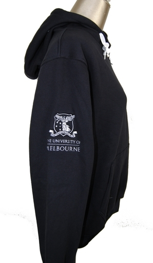 University of Melbourne Buisness School Hoodie Right Sleeve