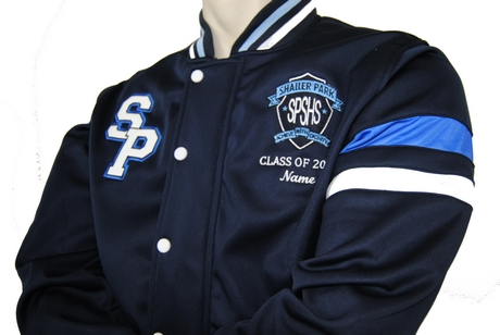 Shailer Park High School Year 12 Jersey And Baseball Jackets Emblem