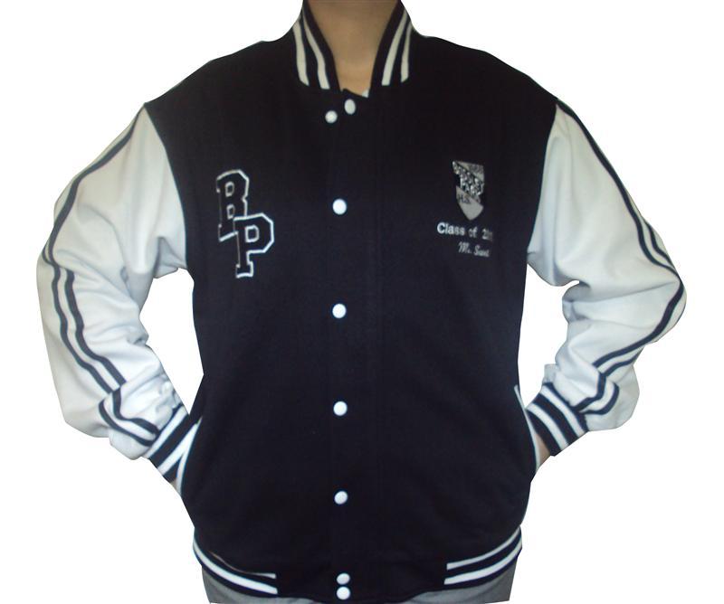 bossley park high school custom baseball jacket