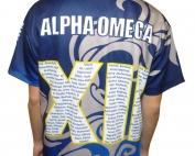 alpha omega senior college custom jersey