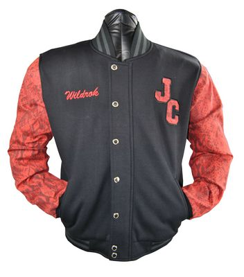 the justice crew baseball jacket wildrok