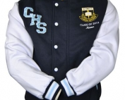 cootamundra high school exodus baseball jacket front