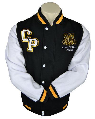 cambridge park high school exodus baseball jacket front