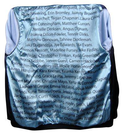 corrimal high school exodus baseball jacket name lining