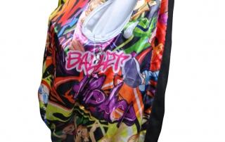 mathis dance custom dance jackets graffiti print