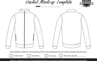 Custom Jacket Template