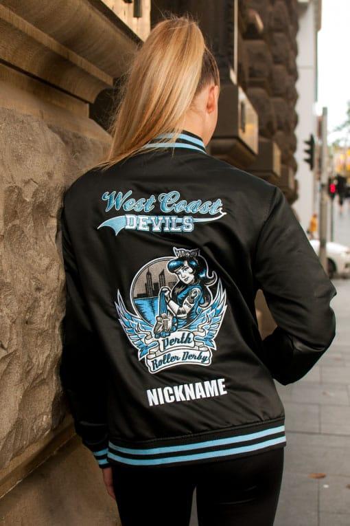 Custom Roller Derby Bomber Jacket