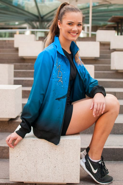 Design Your Own Dance Jacket | Design Your Own Custom Softshell Jacket With Your Personalised Name