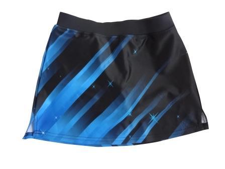 Custom Cheerleading Skirt Skort Uniform Sublimated Design