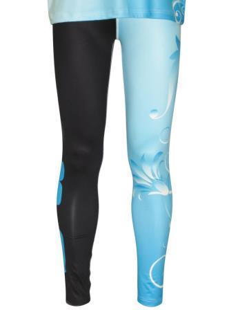 Custom dancewear leggings sublimated