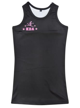 sublimated dancewear singlets front