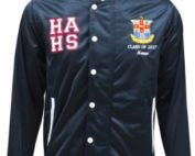 hurlstone agricultural high school baseball jacket front