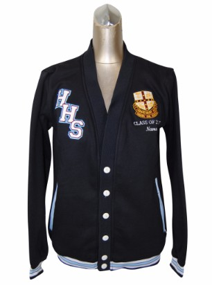 hawkesbury high school cardigan front