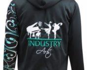 industry performing arts hoodie back