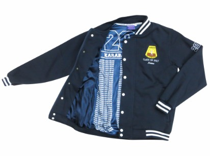karabar high school baseball jacket inside