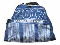 karabar high school baseball jacket lining names
