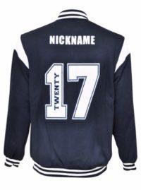 keira high school baseball jacket back
