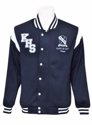keira high school baseball jacket front