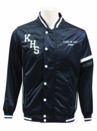 kingswood high school baseball jacket front