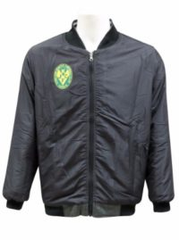 lakers football netball club bomber jacket front