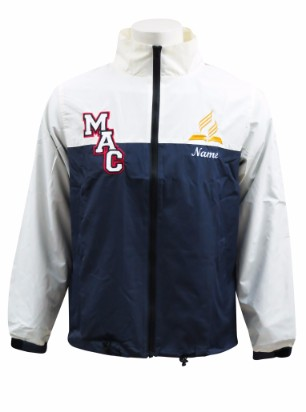 macarthur adventist college windbreaker front