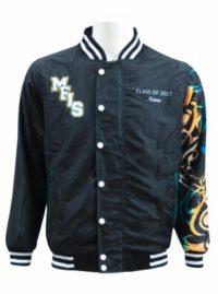 malek fahd islamic school baseball jacket front