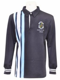mitchell high school long sleeve jersey front